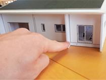 住宅模型で、イメージづくり