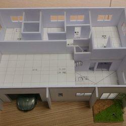 住宅模型プレゼン 模型