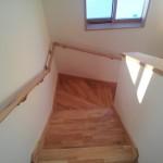 茅野市H様邸 階段