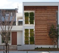 福岡県モデルハウス外観1-ec