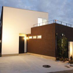 兵庫県モデルハウス外観1