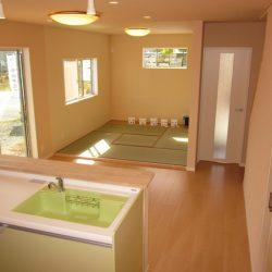 諏訪市Y様邸 畳室とキッチン
