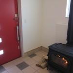岡谷市K様邸 玄関の暖炉