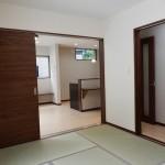 岡谷市T様邸 LDKと繋がる和室(和室側)