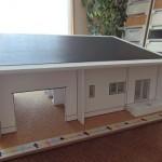 住宅模型-太陽光発電(箕輪町O様邸)