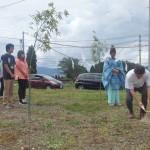 刈初:その土地で初めて草を刈る
