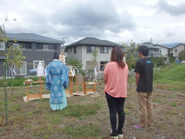 地鎮祭:土地の神様に工事の無事や安全と建物や家の繁栄を祈る儀式