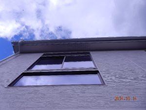 ガルバリュウム鋼板くし引きサイディング
