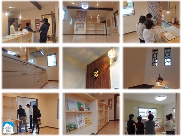 新築住宅完成見学会の様子