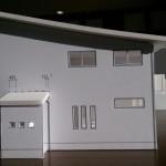 住宅模型 白模型 全体