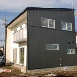 岡谷市堀之内新築住宅見学会建物