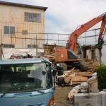 解体作業 諏訪市 建て替え01