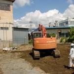 解体作業 諏訪市 建て替え02
