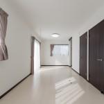 コンパクトハウス 2階 洋室 間仕切り fn01