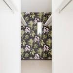 ウォークインクローゼット コンパクトハウス 花柄 クロス fn01
