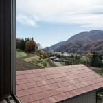 富士山の見える部屋 寝室 コンパクトハウス fn01