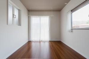 自由設計コンパクトハウス 茅野市M様邸 主寝室