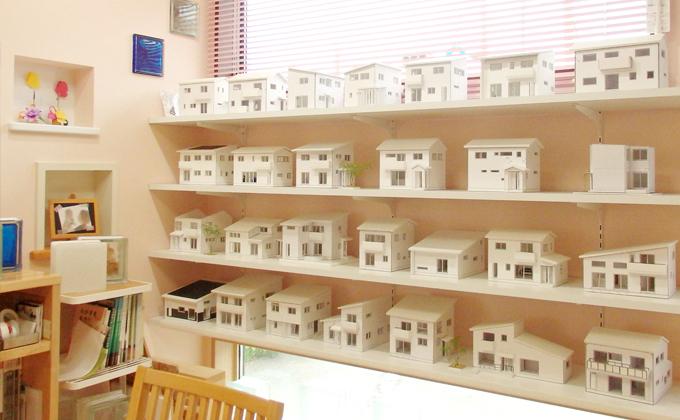 30種類以上の住宅模型