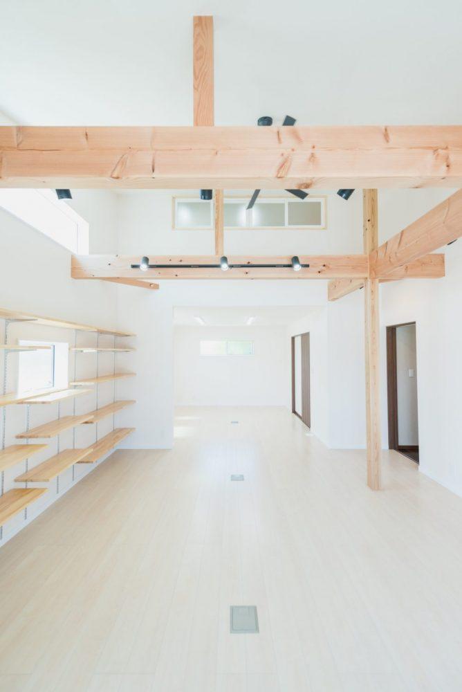 自由設計のコンパクトハウス 諏訪市T様邸 内装