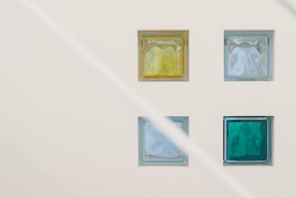 自由設計のコンパクトハウス 茅野市OT様邸 ガラスブロック