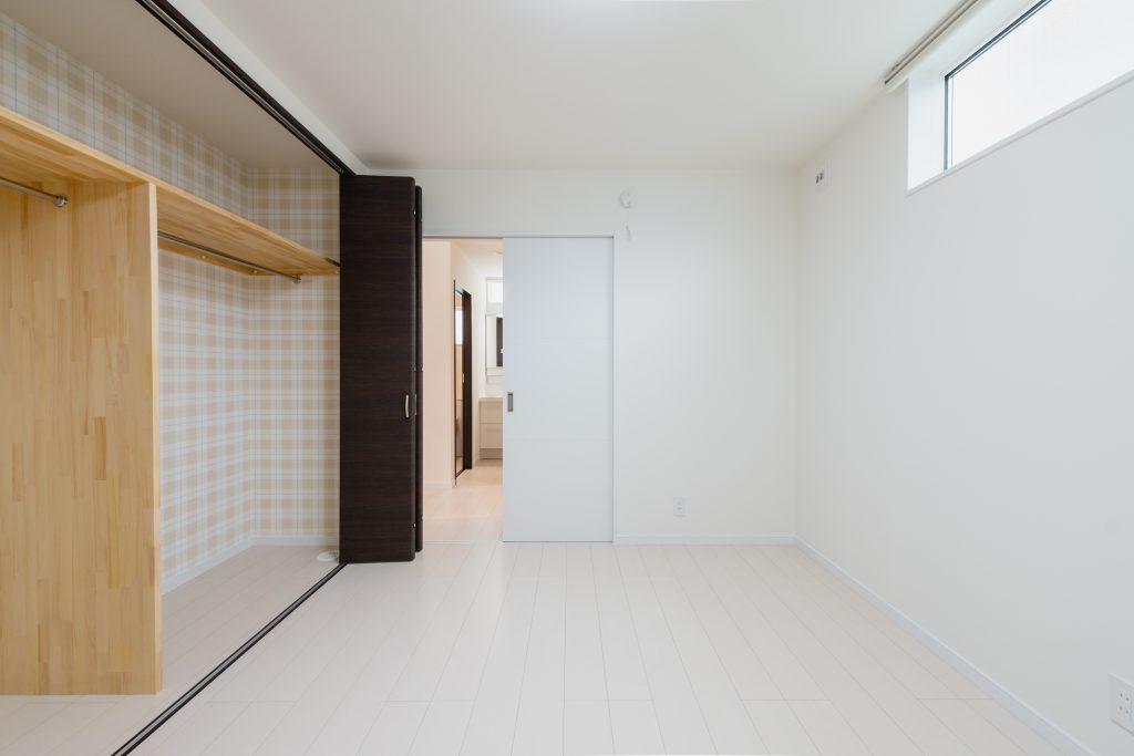 自由設計のコンパクトハウス 茅野市OT様邸 主寝室