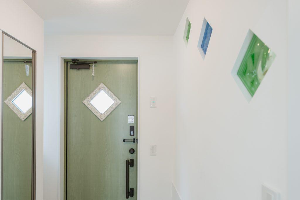 新築 茅野 コンパクトハウス OY-玄関