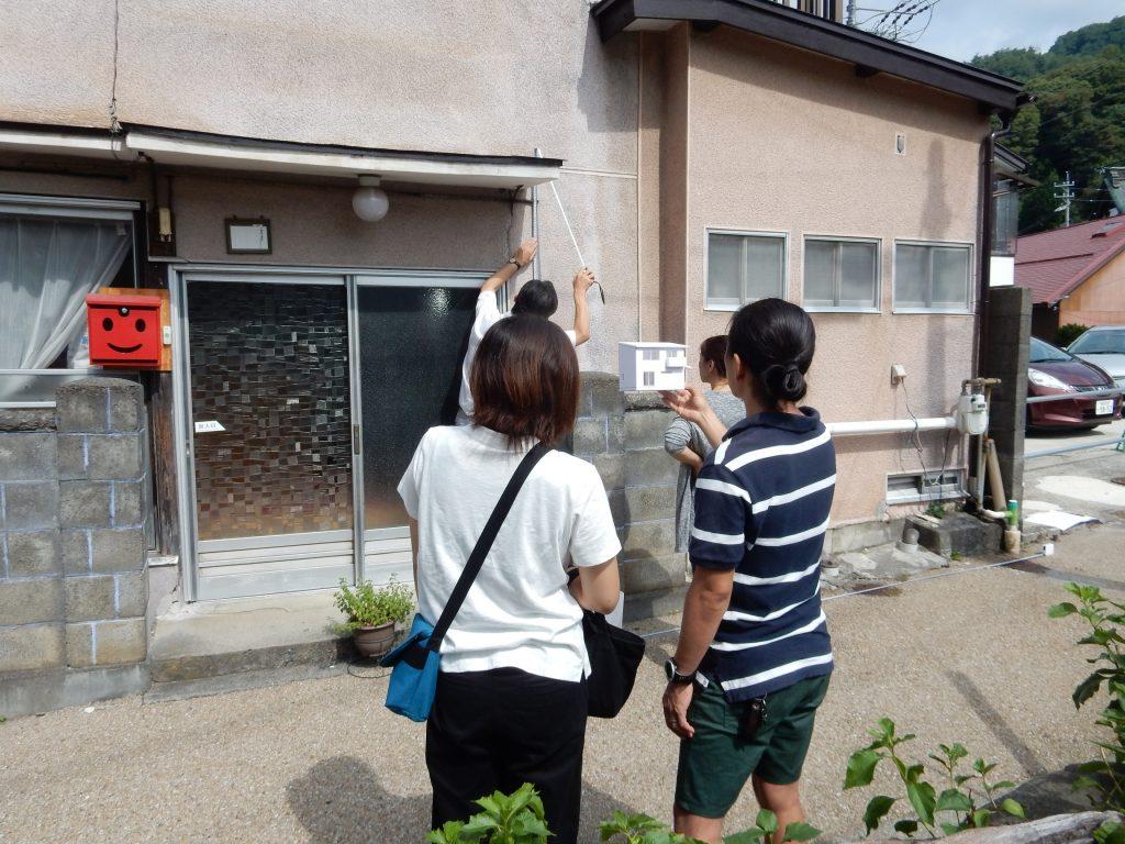 下諏訪町 家づくり 住宅模型