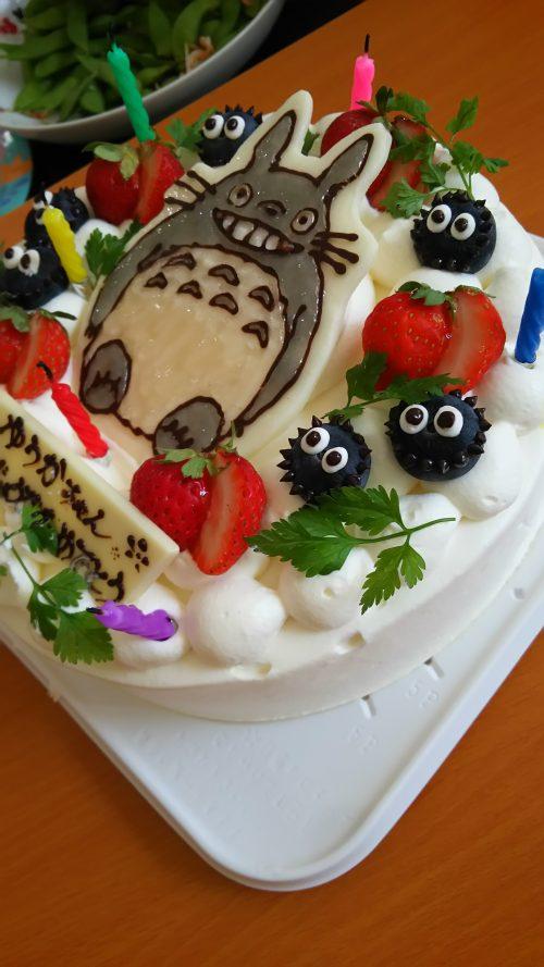 諏訪市 キャラケーキ