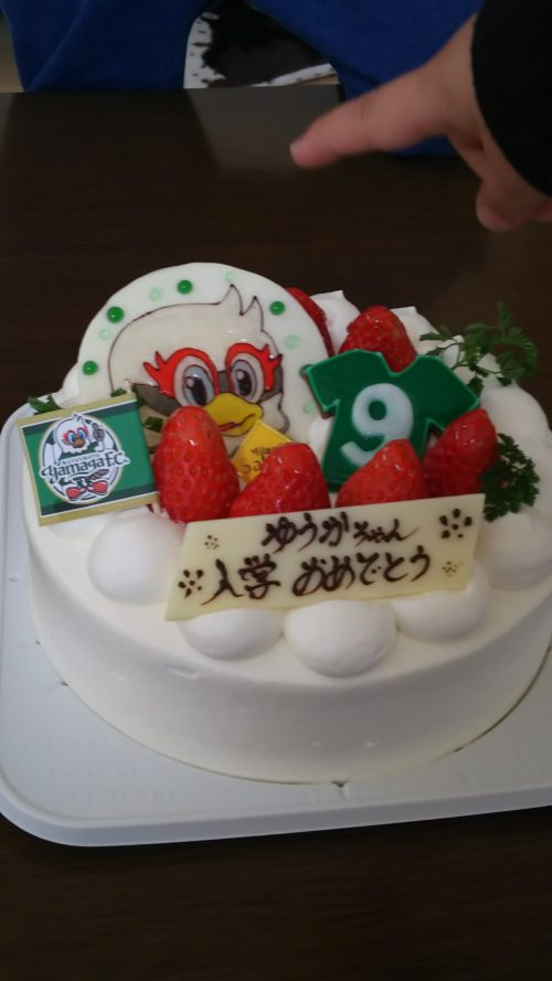 松本山雅  ケーキ