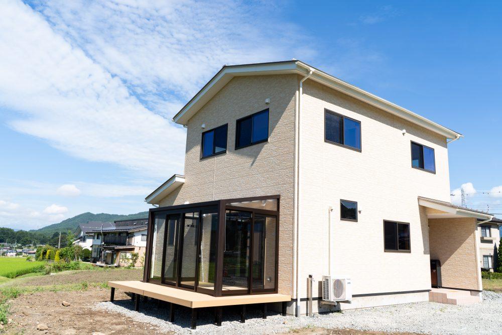 茅野市 新築 無垢材を使った家