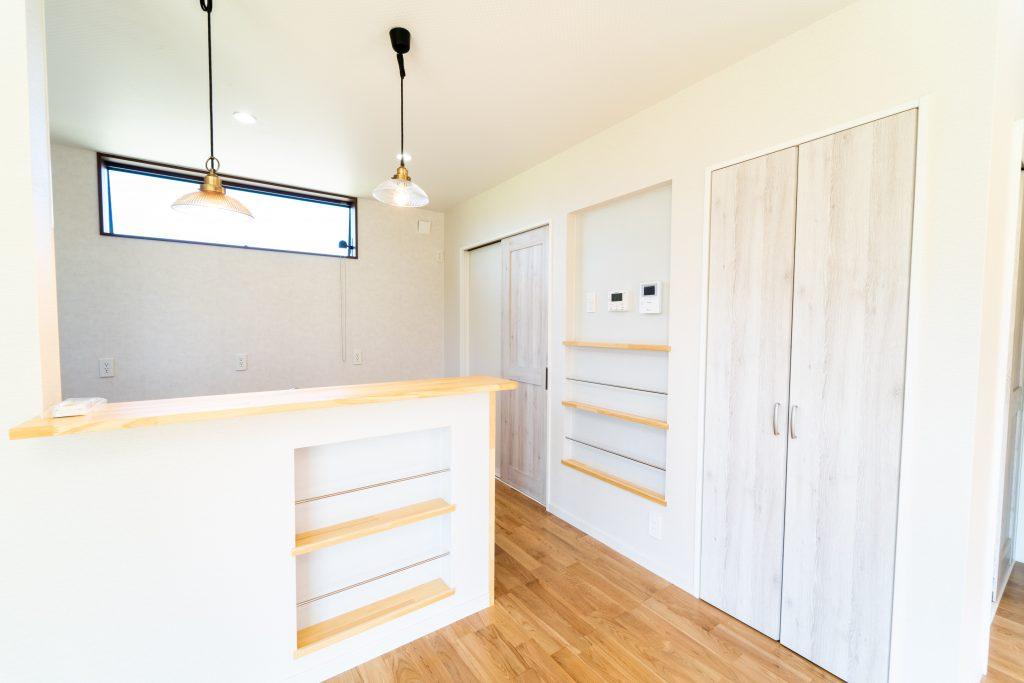 キッチン周り ちょっとしたスペースも活用