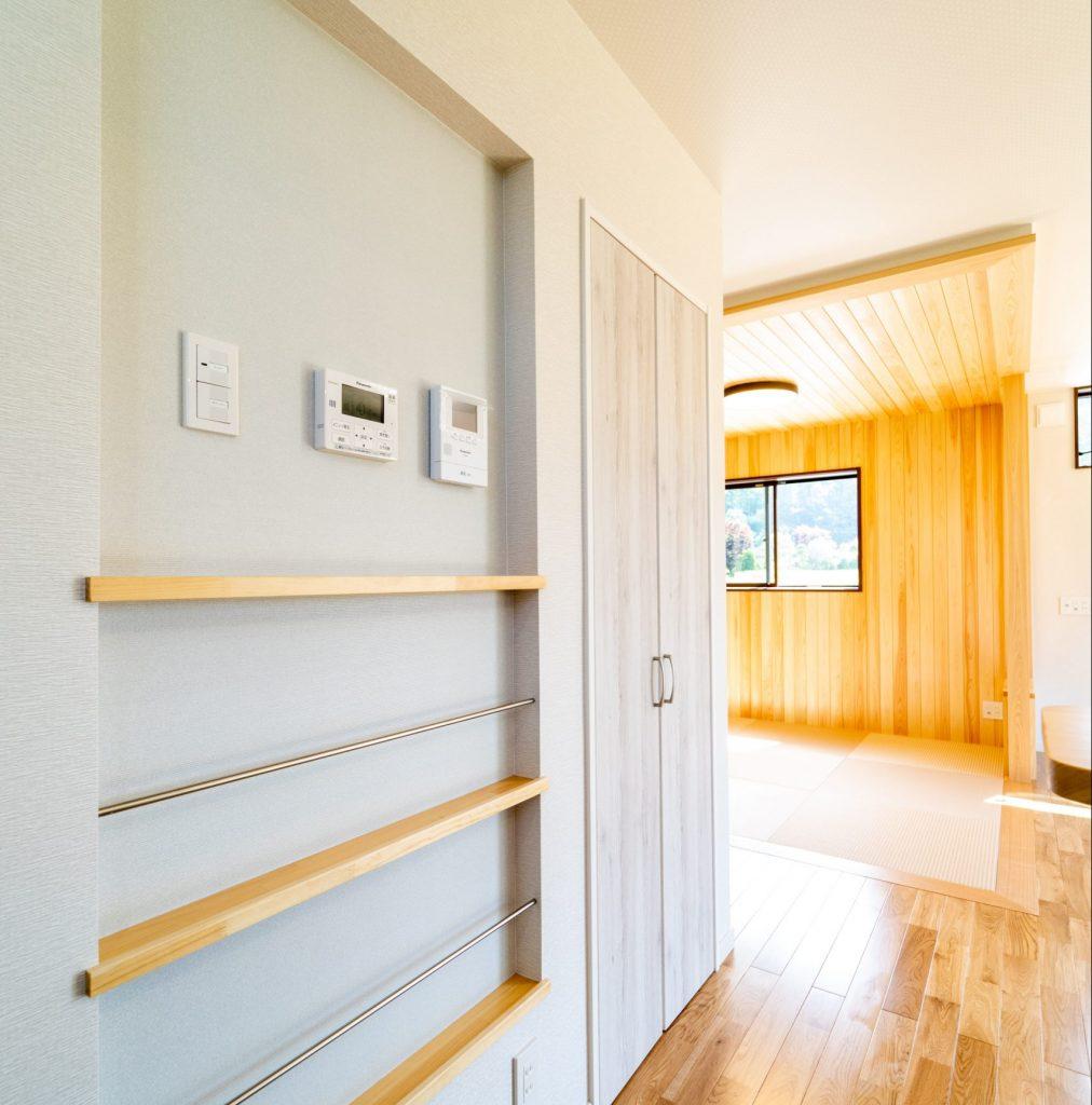 キッチン壁面収納 マグネットも付きます