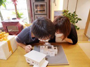 茅野市 新築 諏訪市 岡谷 下諏訪 富士見 原村 住宅模型